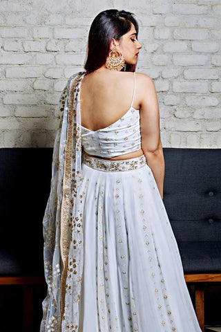The Off White Ashley Lehenga Set