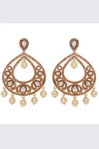Gold Ratika Earrings