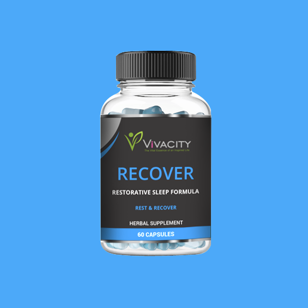 "<span style=""color: #0099ff;""><strong>RECOVER</strong> </span><br><span style=""color: #000000;"">Restorative Sleep Formula"