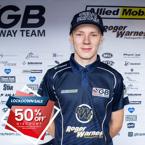 **50% OFF SALE** ON SELECTED GB Speedway Team Race Wear Collection