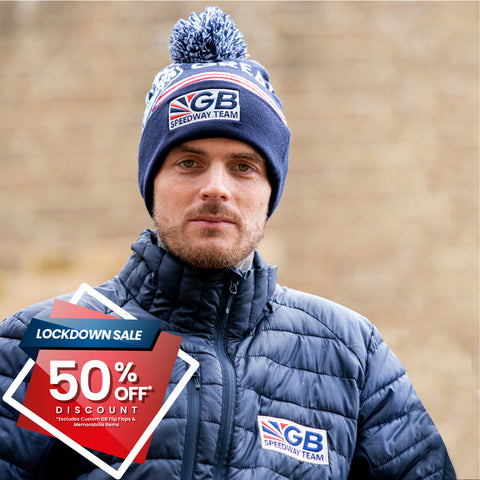** 50% OFF SALE** GB Speedway Team Bobble Hat