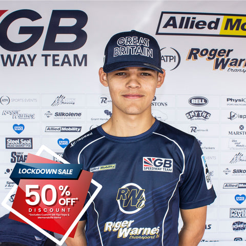 ** 50% OFF SALE** 2020 GB Speedway Team Race Wear Shirt