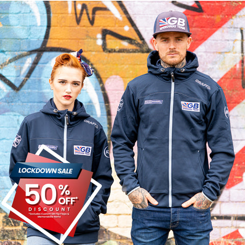 ** 50% OFF SALE** GB Speedway Team Wear Hoodie