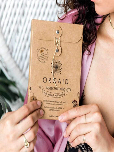 Organic Single Sheet Mask - Anti-Aging Moisturizing
