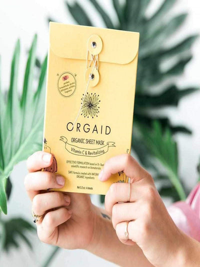 Organic Single Sheet Mask - Vit. C Revitalizing