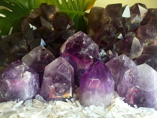 Amethyst w/ Various Minerals