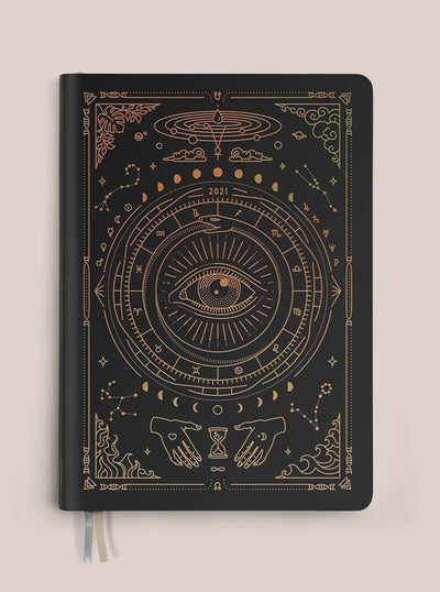 2021 Astrological Planner - Black