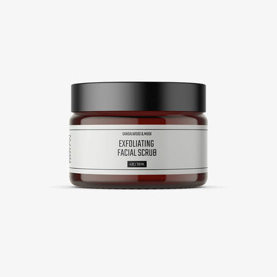 Exfoliating Face Scrub - Men's
