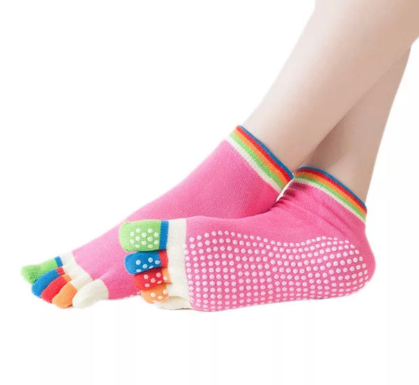 Non-Slip Yoga Socks (Multiple Colors Available)