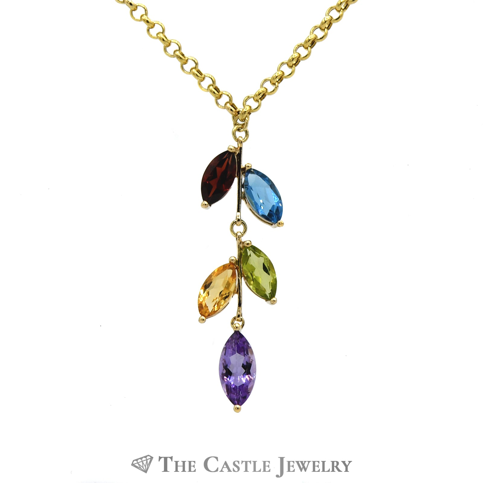 Marquise Cut Multi Gemstone 17