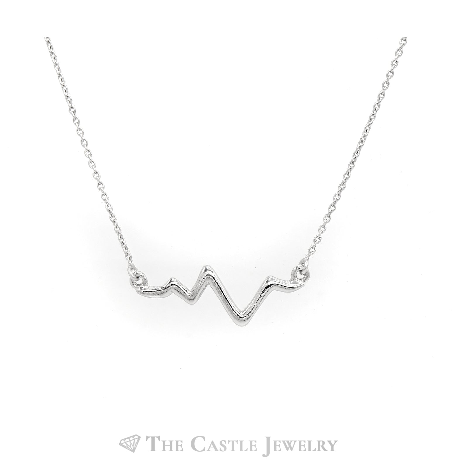 Heartbeat Sterling Sliver Necklace