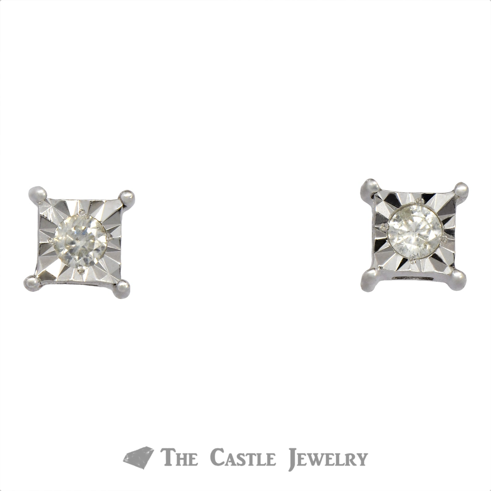 SPECIAL! Princess Style Diamond Illusion Studs