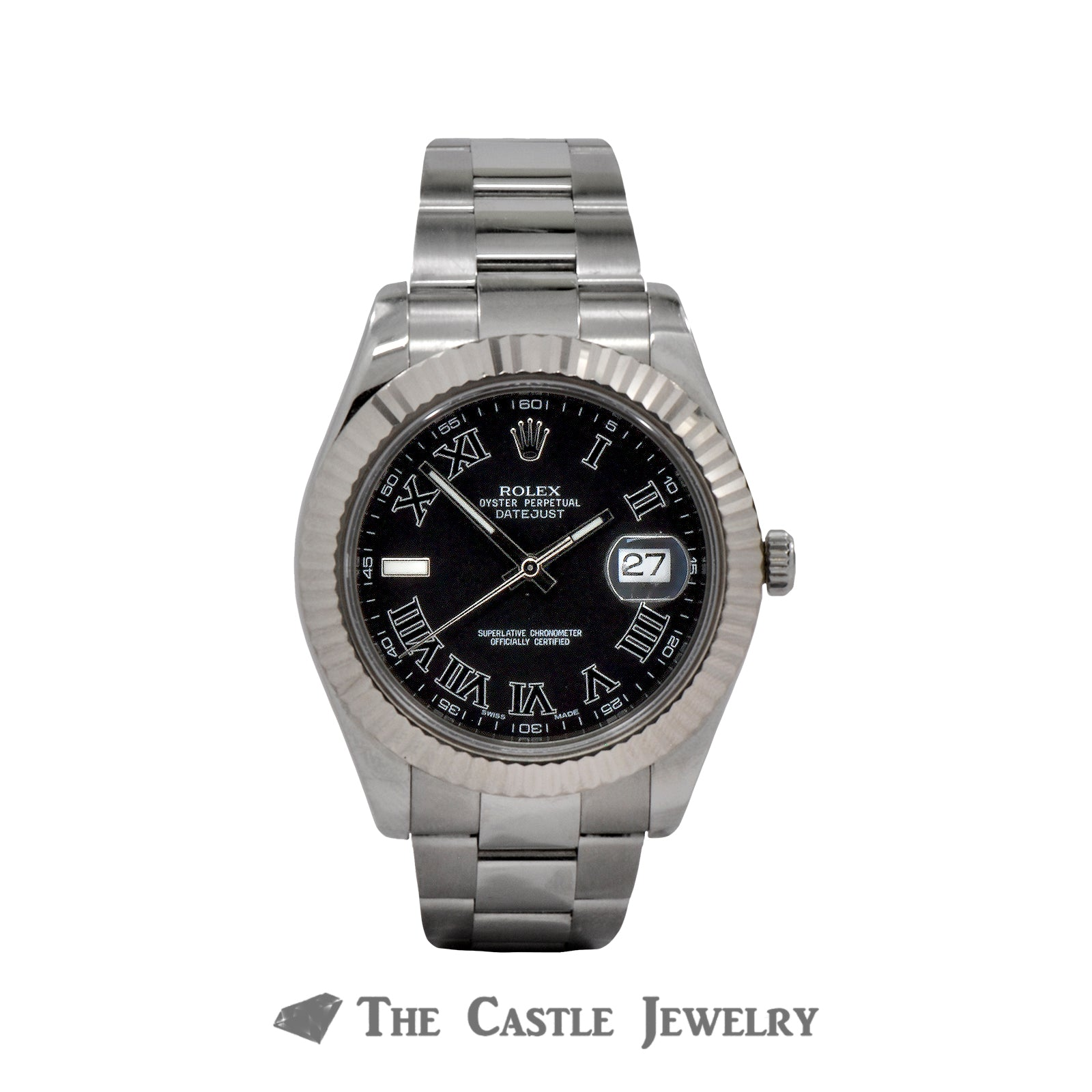 Rolex Datejust II 41mm with Roman Numeral Dial-0