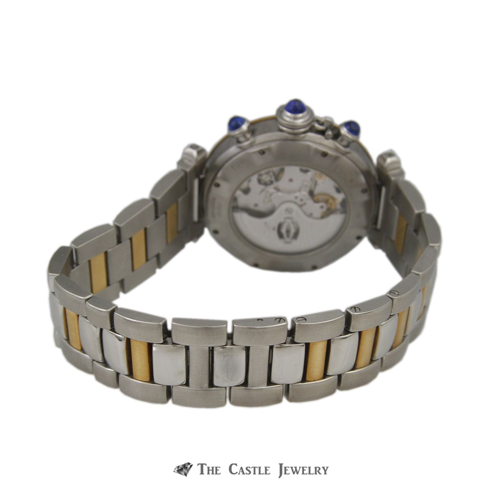 Cartier Pasha de Cartier Watch 18K & Steel 38mm Chronograph Ref. 2113-1
