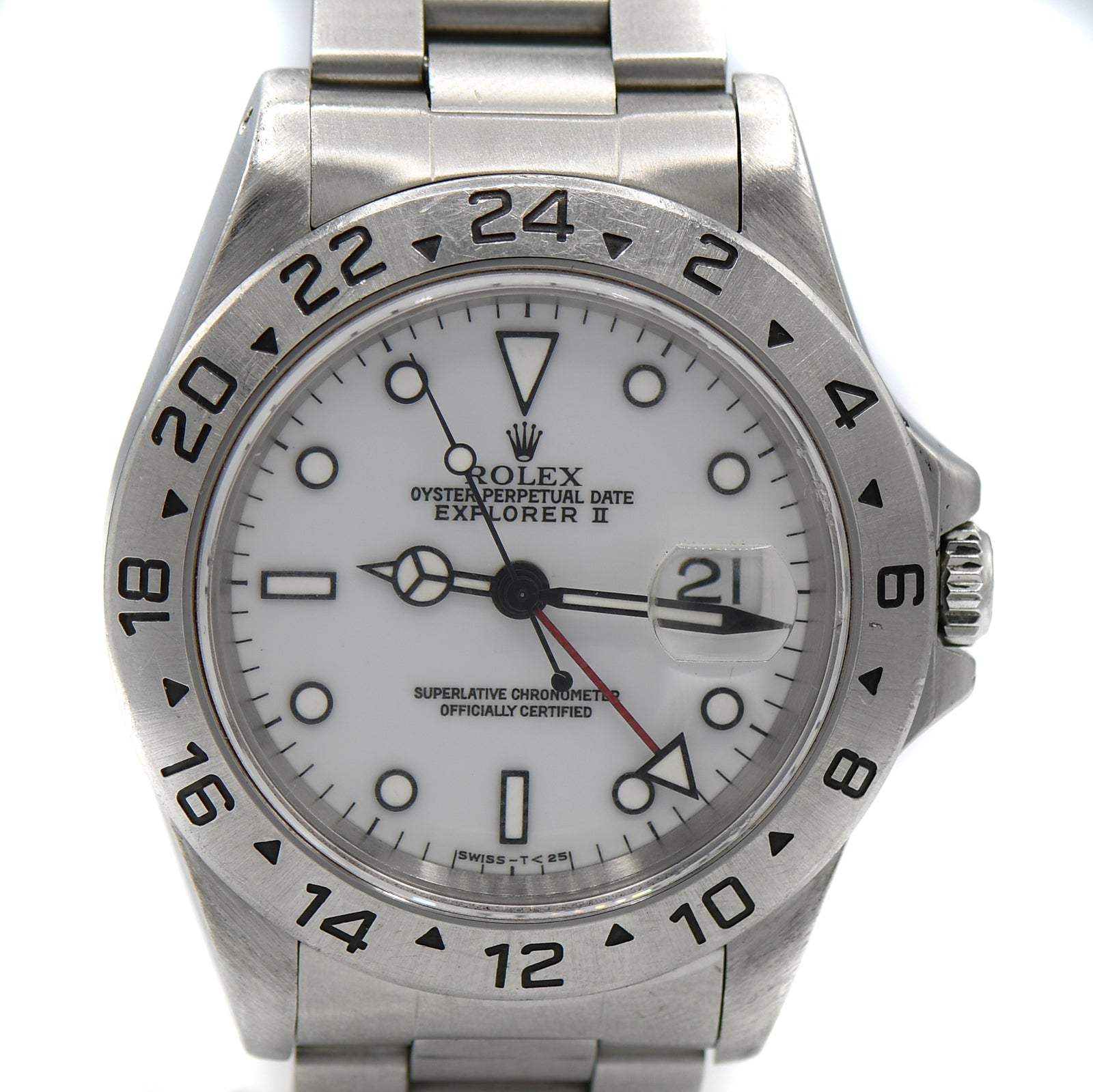Rolex Explorer II 40mm with White Dial ref. 16570-2