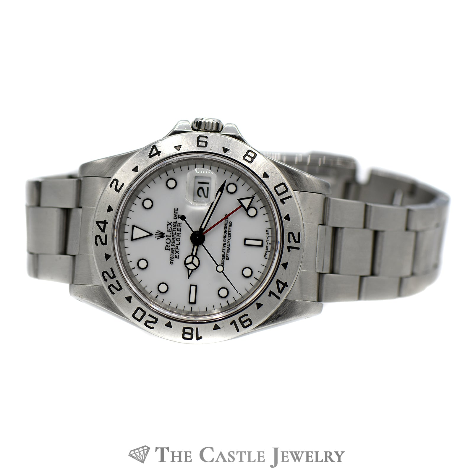 Rolex Explorer II 40mm with White Dial ref. 16570-4
