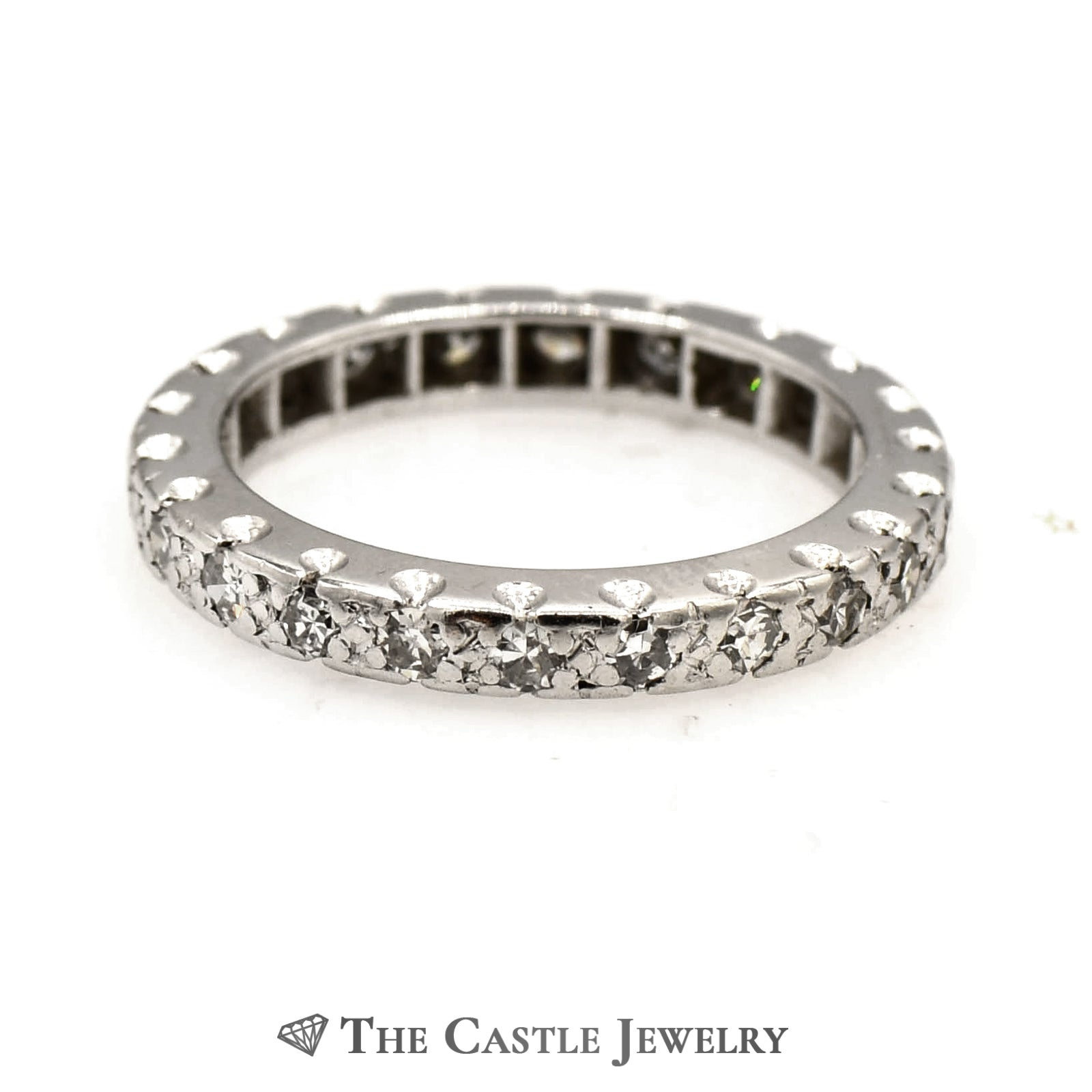 .50cttw Round Diamond Eternity Band in 10k White Gold