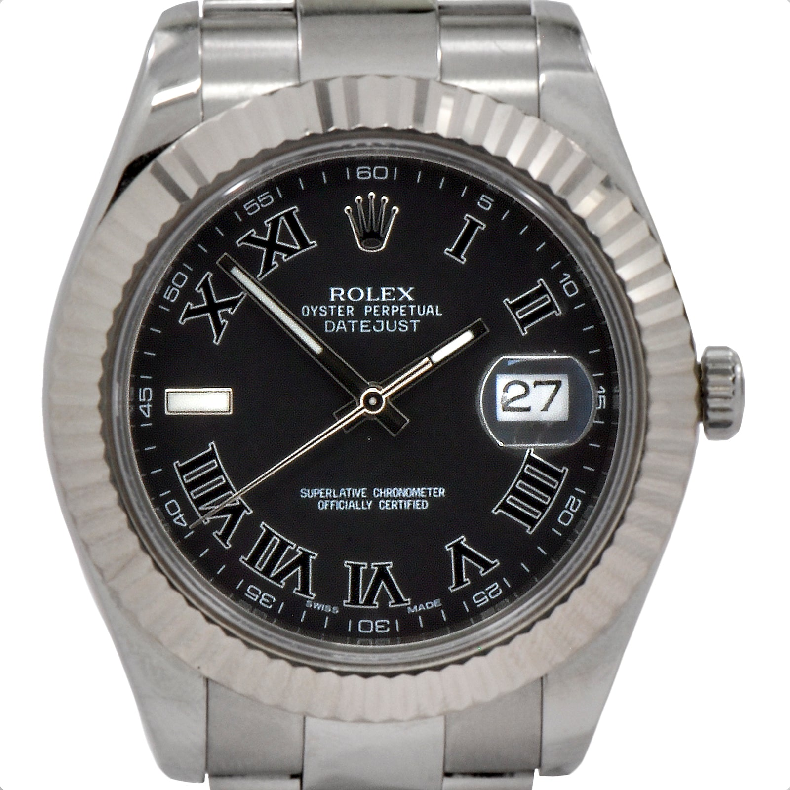 Rolex Datejust II 41mm with Roman Numeral Dial-3