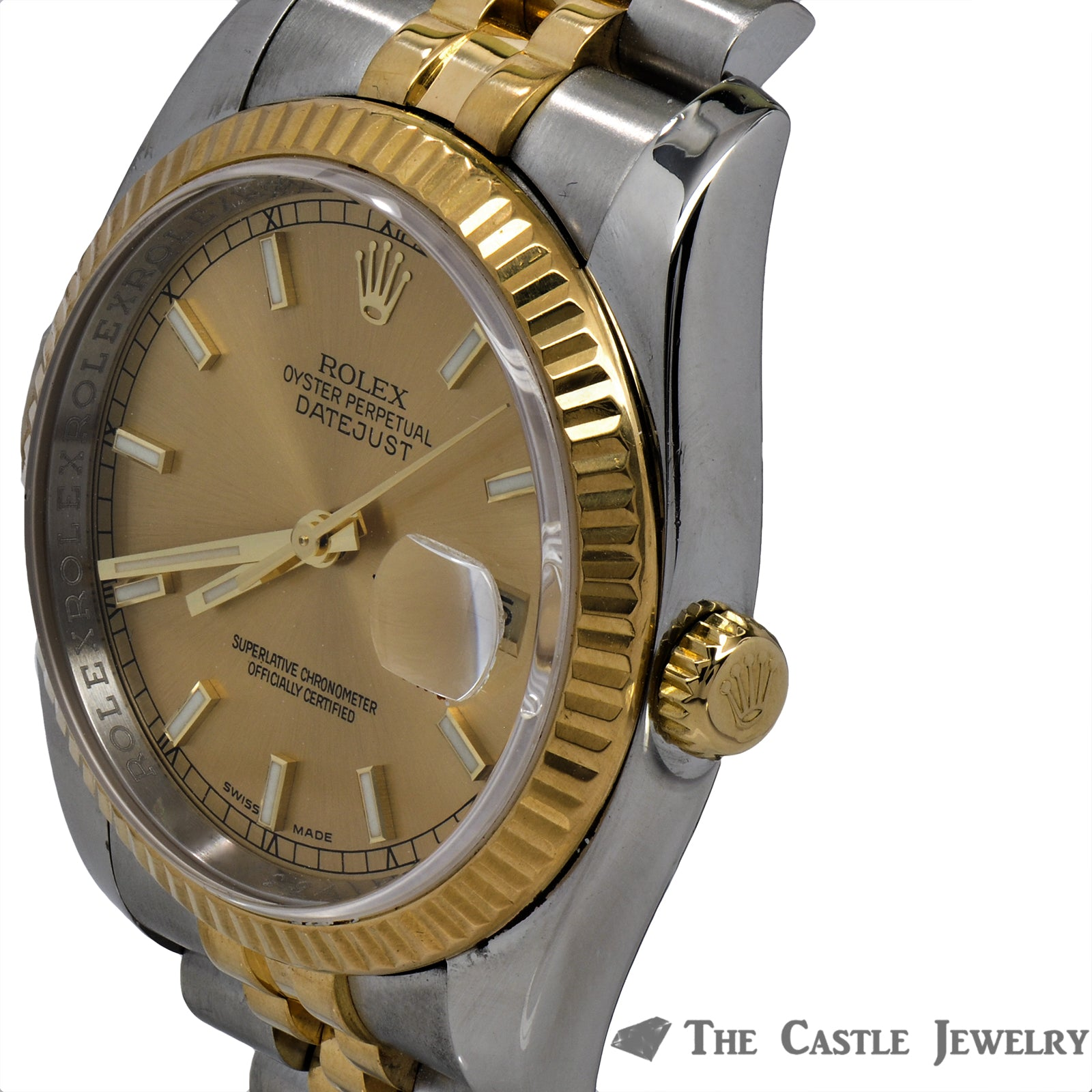 Rolex Datejust 116233 With Champagne Dial and Fluted Bezel-7