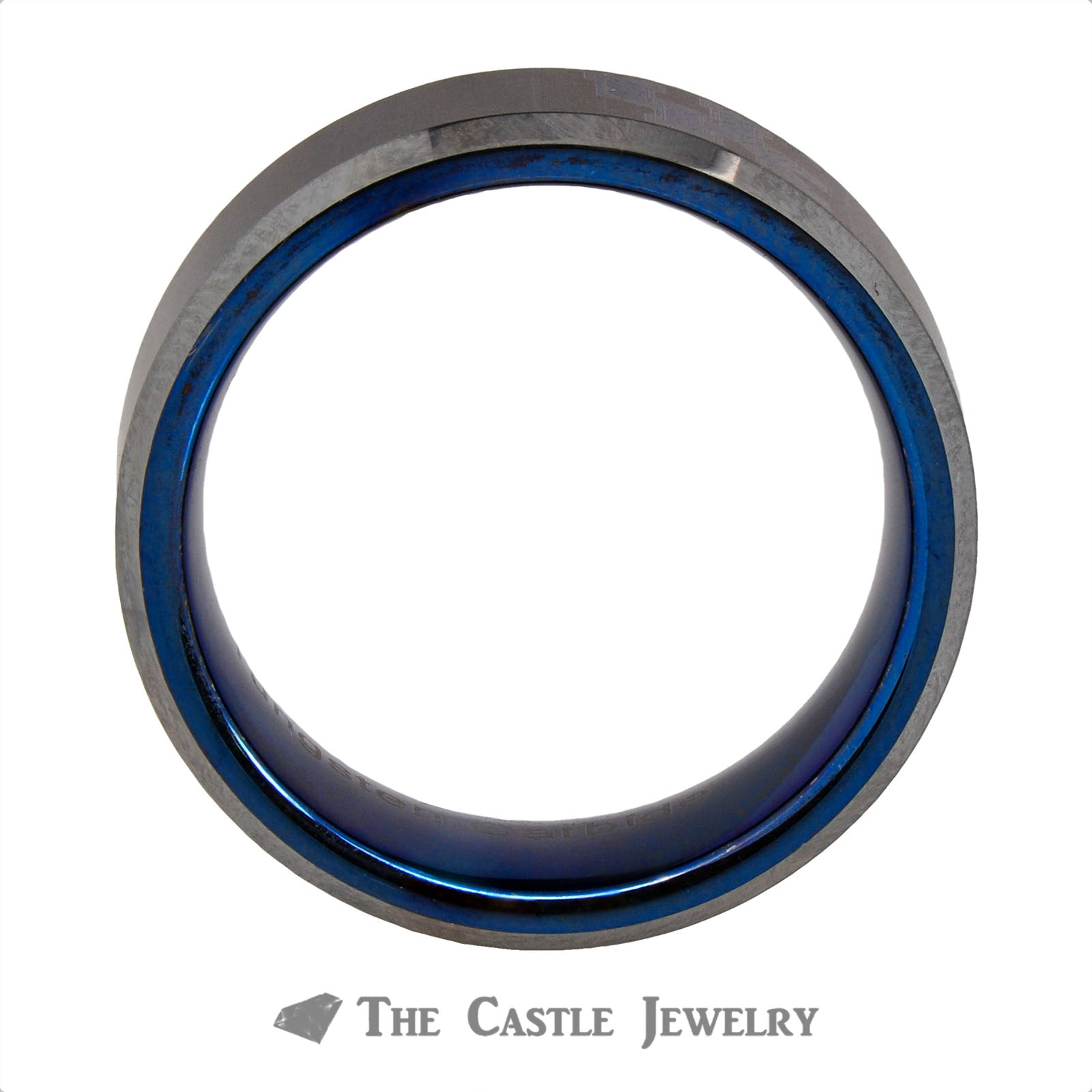 University of Kentucky 8mm Tungsten Wedding Band-1