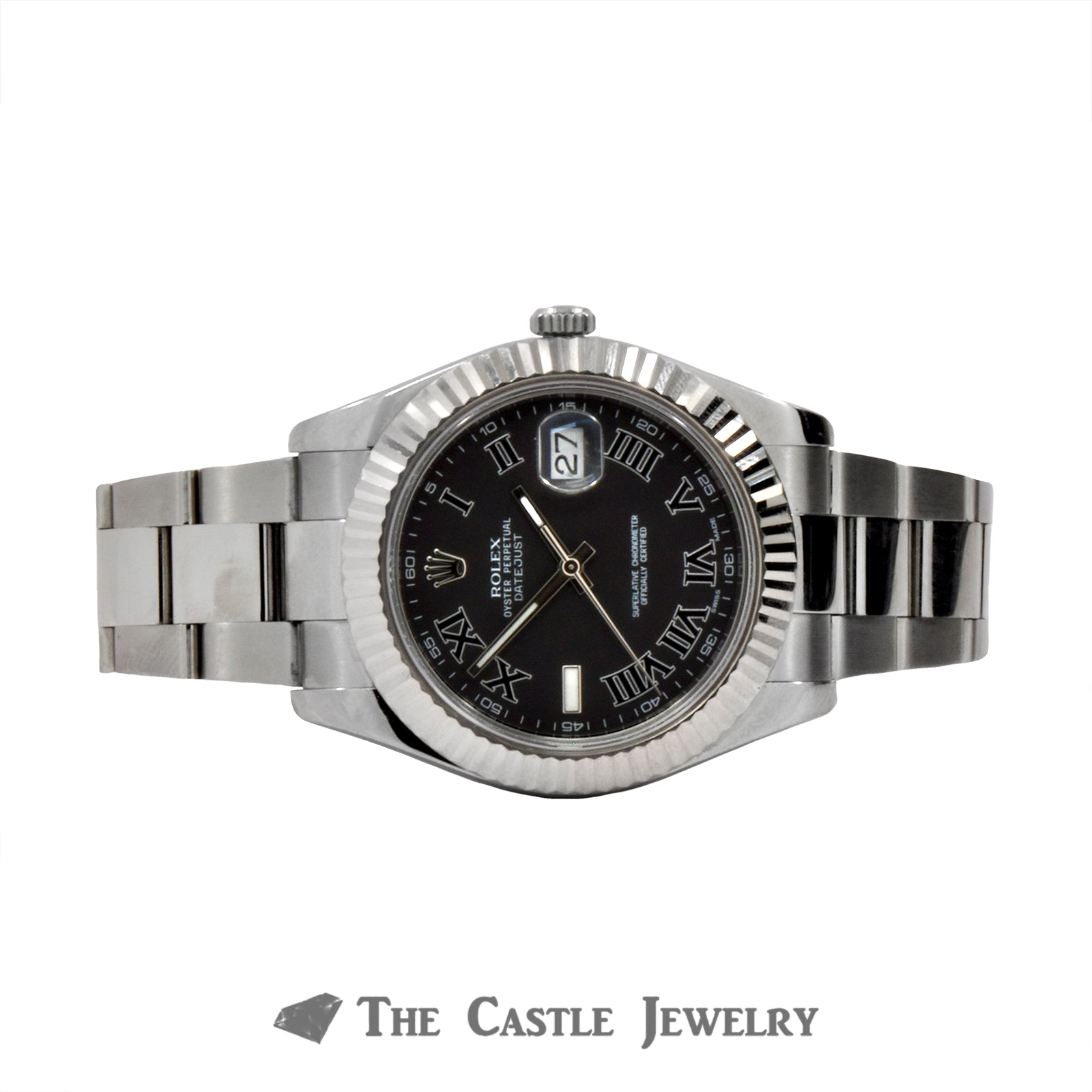 Rolex Datejust II 41mm with Roman Numeral Dial-5