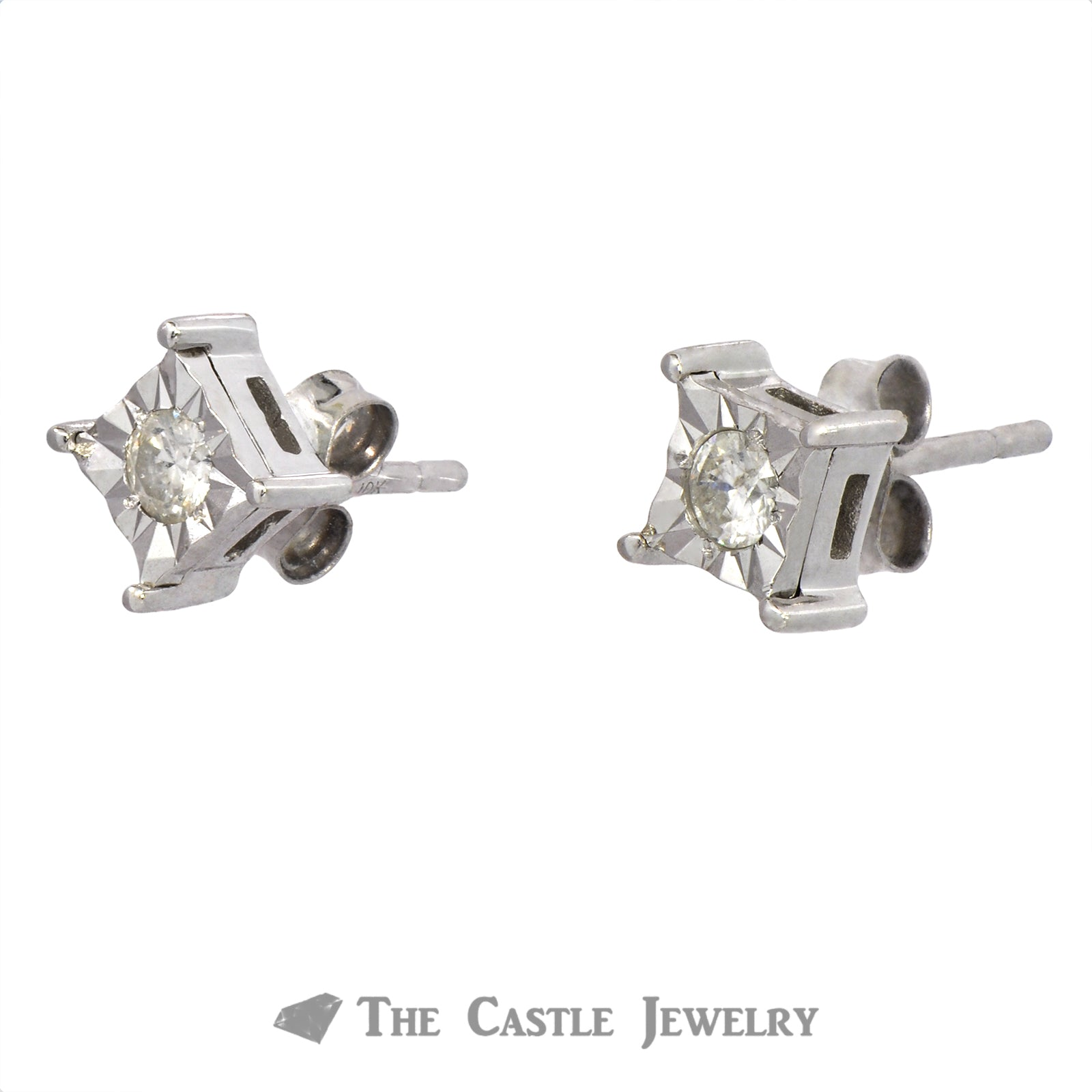 SPECIAL! Princess Style Diamond Illusion Studs-1