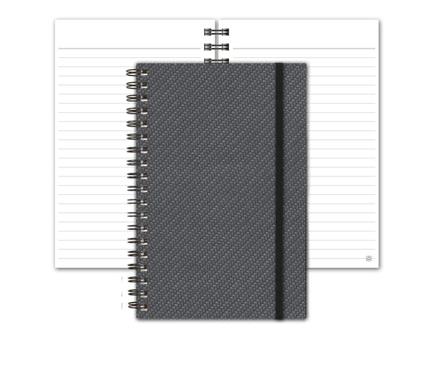 Industrial Metallic Notebook by JournalBooks®