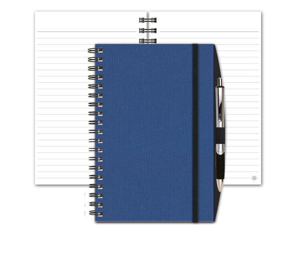 Linen Notebook with Penport & Pen by JournalBooks®