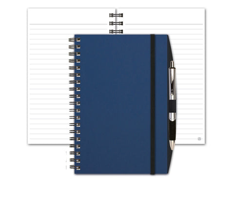 Smooth Matte Notebook with Penport & Pen by JournalBooks®