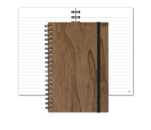 Woodgrain Notebook by Journalbooks®