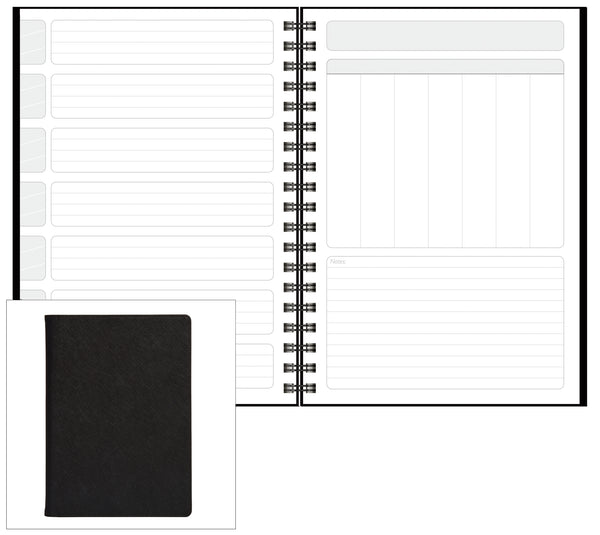 Modena NoteBook, Non-Dated Planner Refills - MDR-10PR (Pack of Two)