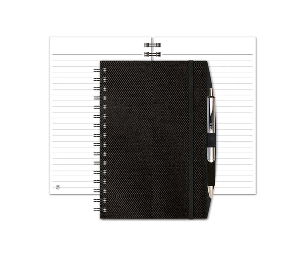 Industrial Metallic Seminar Pad with Penport & Pen JournalBooks®