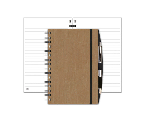 Linen Seminar Pad with Penport & Pen by JournalBooks®