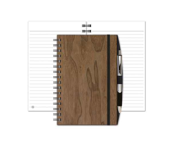 WoodGrain SeminarPad with Penport & Pen by Journalbooks®