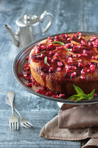Orange & Pomegranate Cake