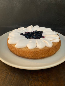 Lemon Blueberry Cake (Vegan)