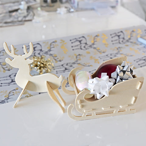 Design Your Own Santa's Sleigh by Amanda Jane's