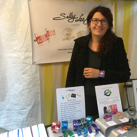 Sally Lees at Canopy Market September 2017