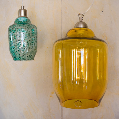 Glass Lamp Set by Gie El Home