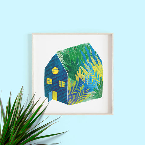 Indoor Gardener Print by Hello Grimes