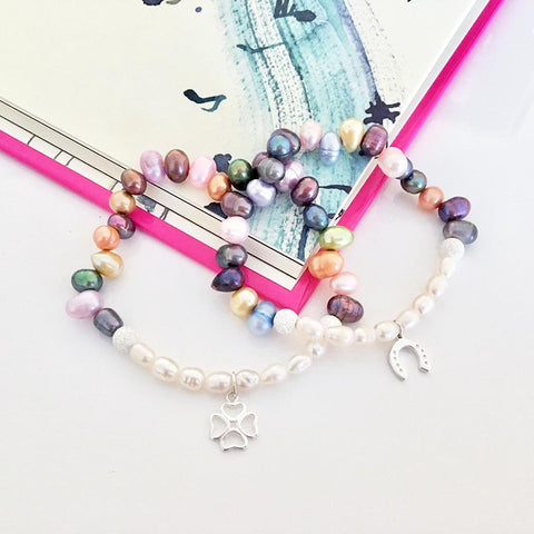 Lucky Jelly Bean Bracelet by Amanda Jane's