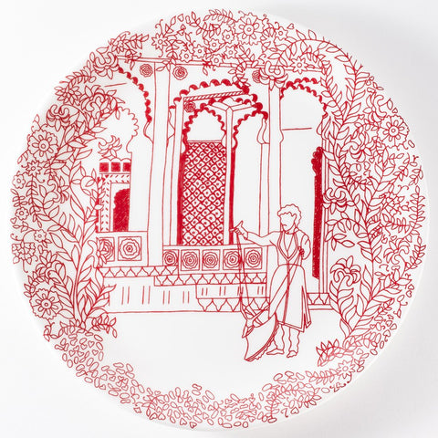 Haveli Puppeteer Side Plate by Suitcase Susie