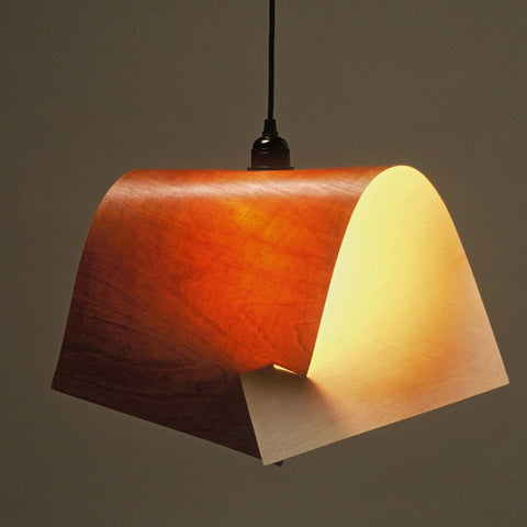 Incastro Lampshade - Printed Birch Ply by Damdesign
