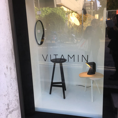 Vitamin Showroom during Launch at London Design Festival 2017