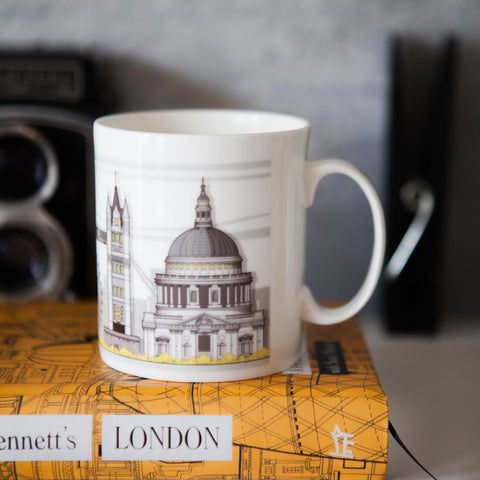 London Landmark Bone China Mug by Linescapes