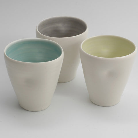 Dimpled Cup by Linda Bloomfield
