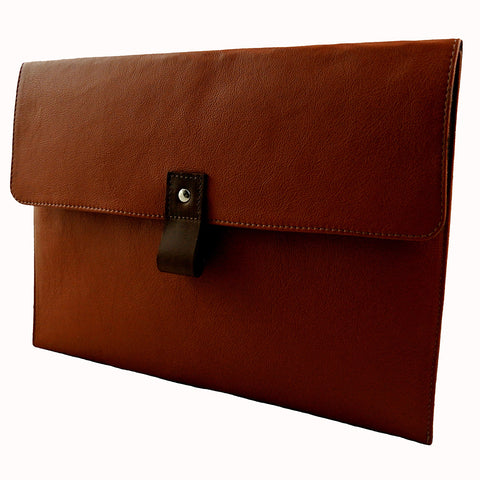 Hand Crafted Leather MacBook Air Case by Freeload Accessories