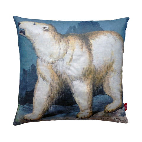 Polar Bear Cushion by Michelle Mason