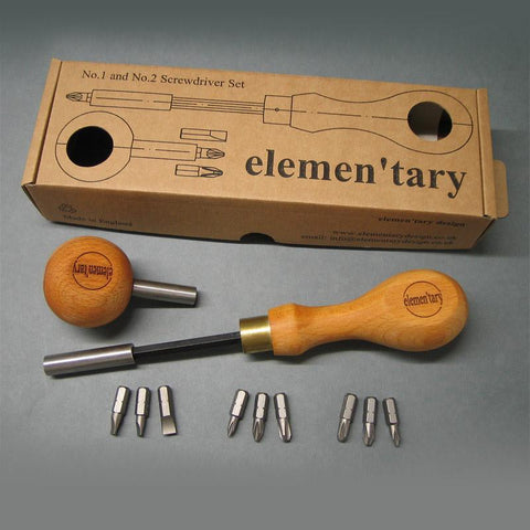 NO 3 Screwdriver Set by Elementary Design