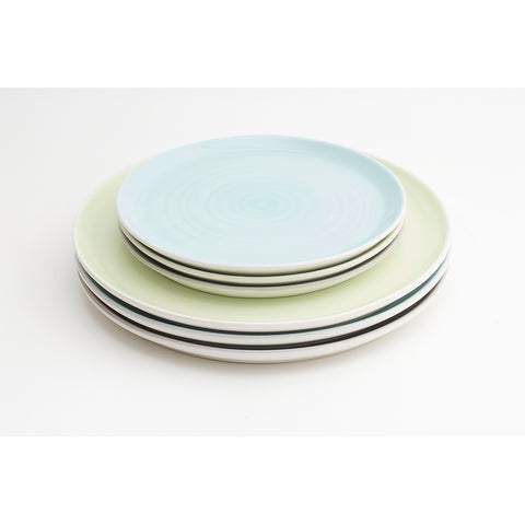 Tactile Coloured Plates by Linda Bloomfield
